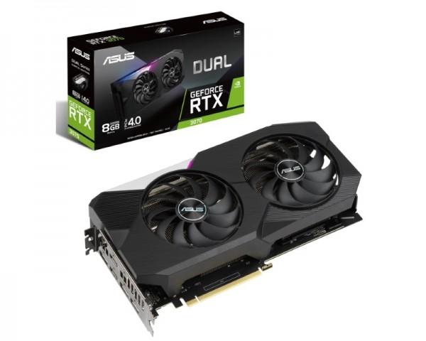 ASUS nVidia GeForce RTX 3070 8GB 256bit DUAL-RTX3070-8G-V2 LHR