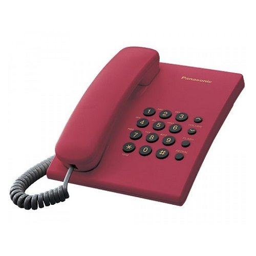 PANASONIC KX-TS500FXR CRVENI FIX TELEFON