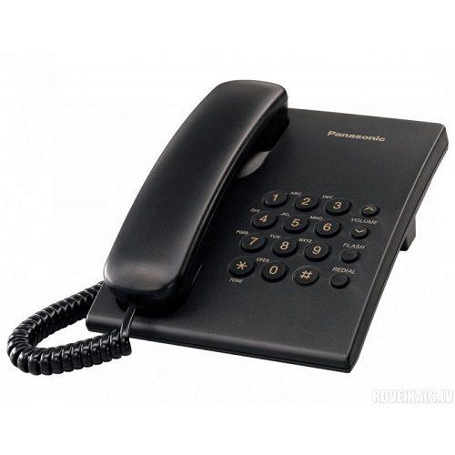 PANASONIC KX-TS500FXB CRNI FIX TELEFON
