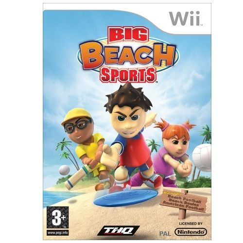 WII BIG BEACH SPORTS D6000 (ASF)