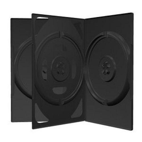 MEDIARANGE DVD BOX ZA 3 DISKA CRNA 14MM (VVRT)