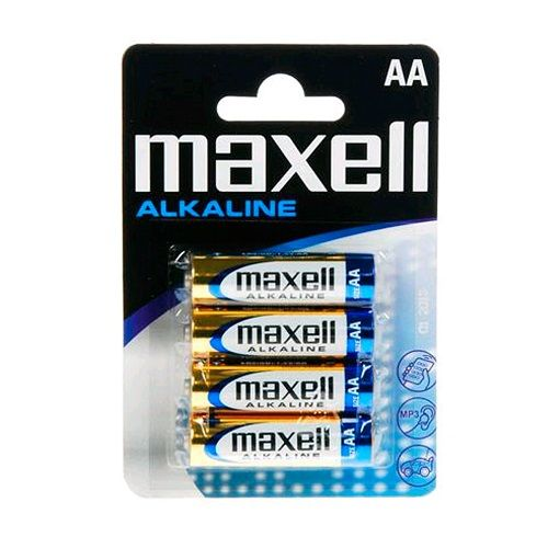 MAXELL LR6 4PK BATERIJA BLISTER