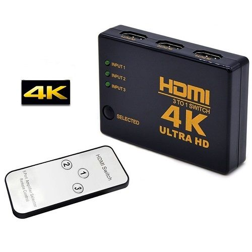 VELTEH HDMI SWITCH 3U 1 HDS-005 (VTP)