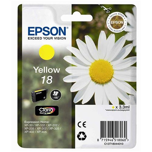 EPSON INK T1804 YELLOW INK ZA XP-102/202/30/305/405