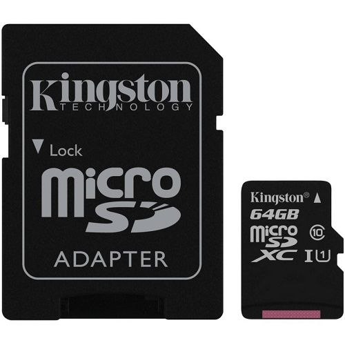 KINGSTON MICRO SDHC 64GB SDC10G2/64GB