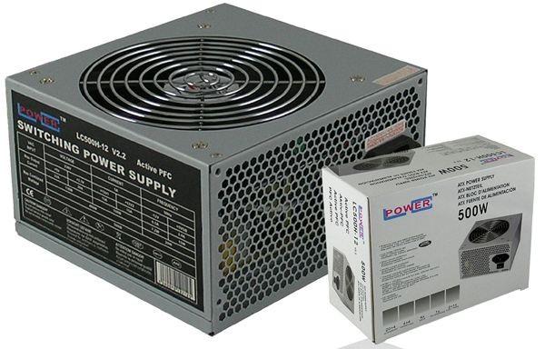 LC POWER NAPAJANJE LC500H-12 V2.2 MAX 500W, FAN 120mm