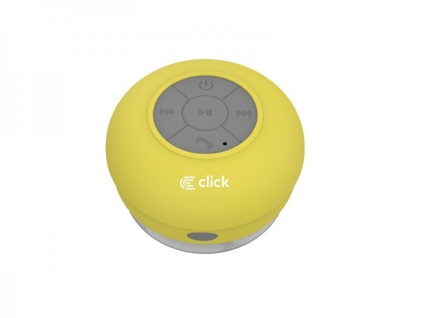 Click BS-R-WS Zvucnik bluetooth Waterproof Shower, zuti
