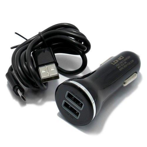 SAMSUNG AUTO PUNJAC MICRO USB CRNI 2000MAH (RPM)