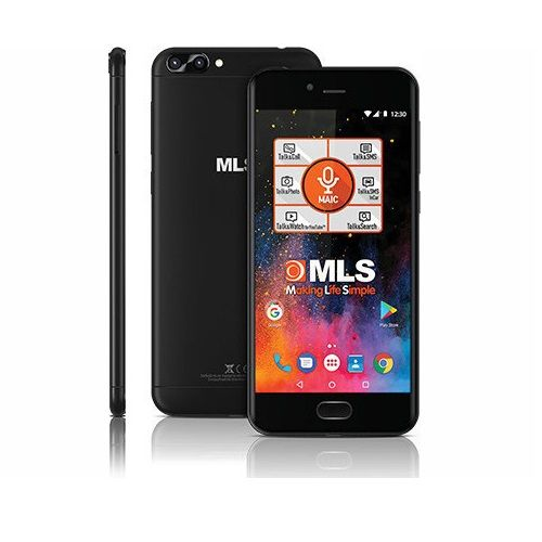 MLS DX 4G IQS300 SAFE BLACK TELEFON (RFT)