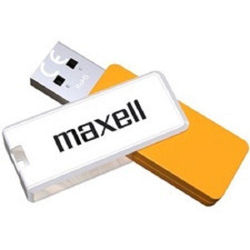 MAXELL USB 3.1 64GB TYPHOON WHITE+ORANGE (DUDI)