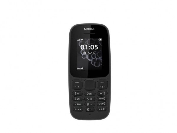 NOKIA 105 BLACK NEW