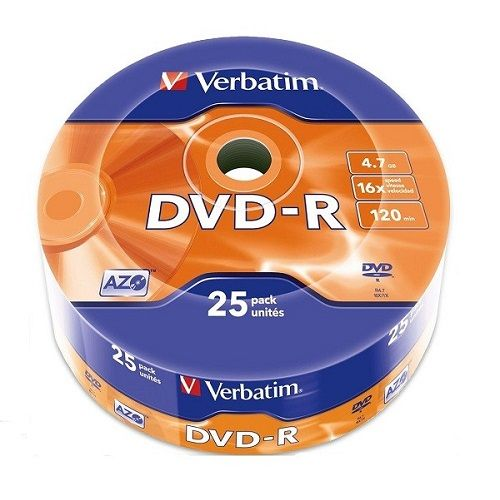 VERBATIM DVD-R 4.7GB 16X (43808) (VVRT)