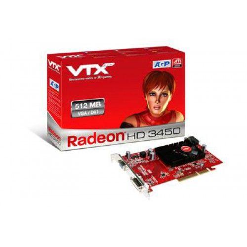 VGA AGP VTX 3D HD3450/512MB
