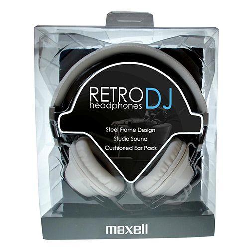 MAXELL SLUSALICE 'RETRO DJ' WHITE