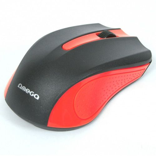OMEGA MOUSE OM05R RED USB (ODC)