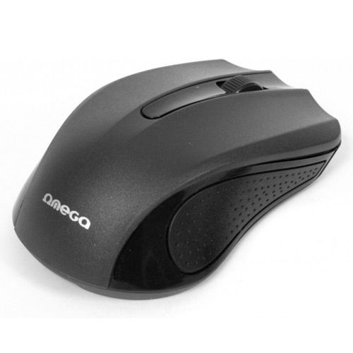 OMEGA MOUSE OM05B BLACK USB (ODC)