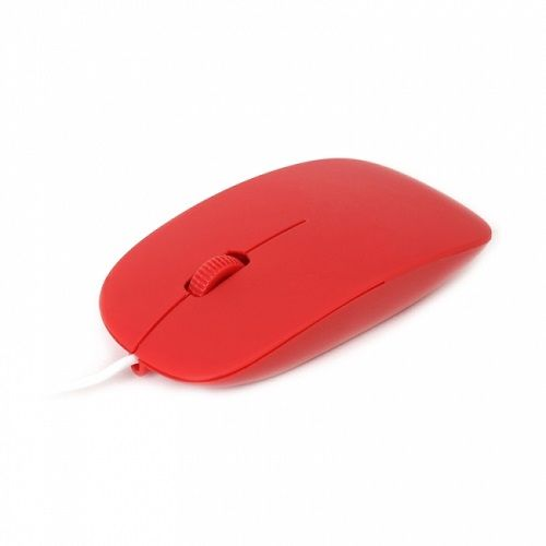 OMEGA OM0414CR MOUSE RED USB 1000dpi (ODC)