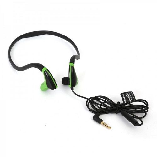OMEGA SLUSALICE FH1019BG MP3 BLACK/GREEN (ODC)