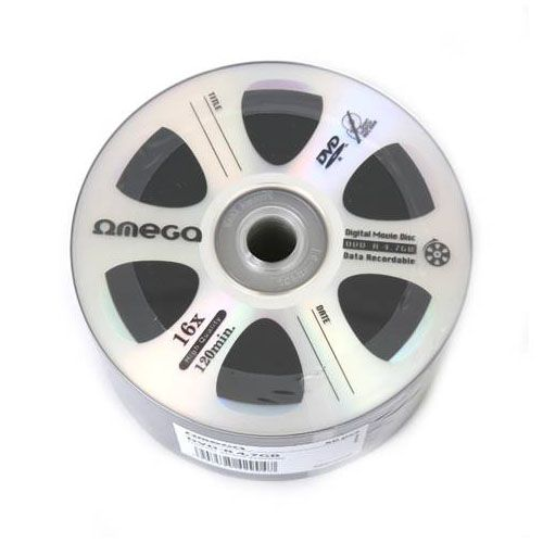 OMEGA DVD-R 16X 1/50 DIGITAL MOVIE (ODC)