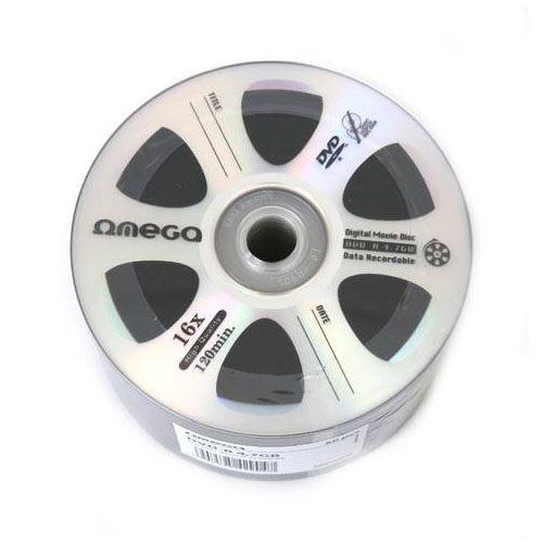 OMEGA DVD-R 16X 1/50 DIGITAL MOVIE (ODC)