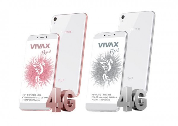 VIVAX SMART FLY 3 LTE ROSE GOLD (KMT)