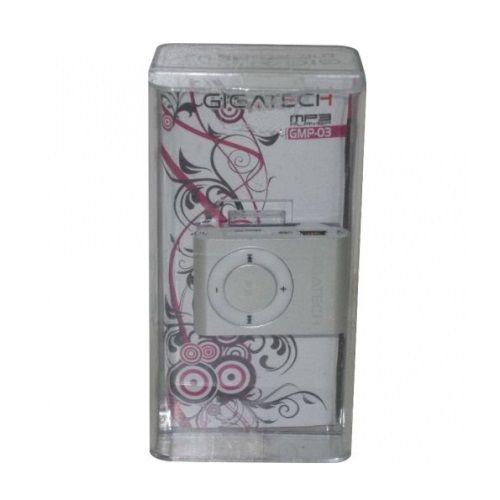 GIGATECH MP3 PLAYER GMP-03 SILVER (GAMA)