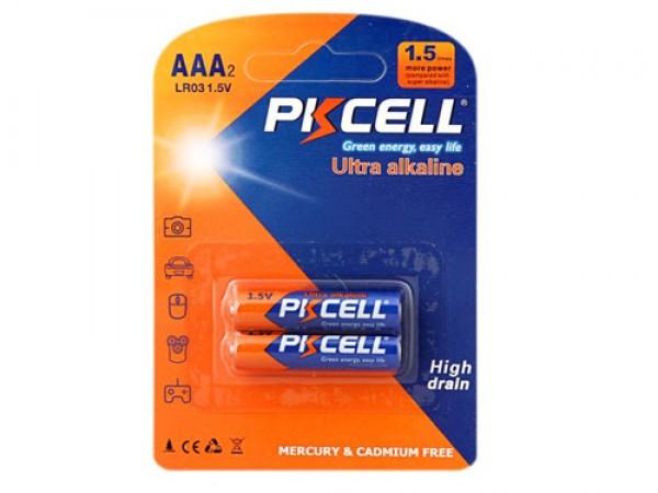 PKCELL ALKALNE BATERIJE LR03 AAA 1.5V (VTP)