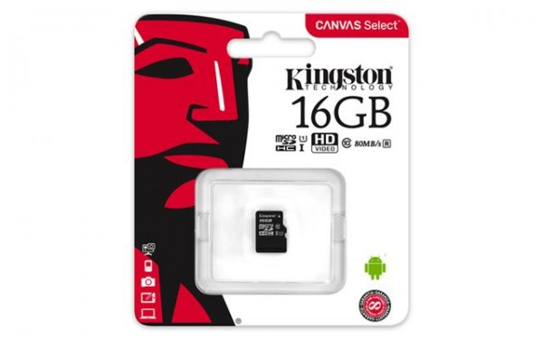 KINGSTON MICRO SD 16GB bez adaptera SDCS/16GBSP