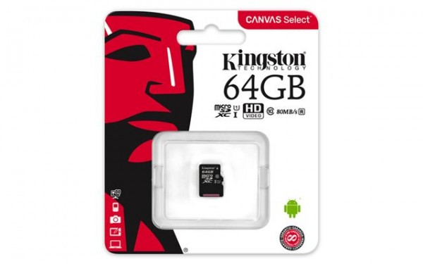 KINGSTON MICRO SD 64GB BEZ ADAPTERA SDCS/64GBSP