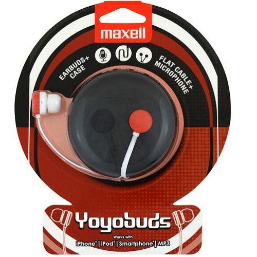 MAXELL SLUSALICE YOYOBUDS BLACK/RED (DUDI)