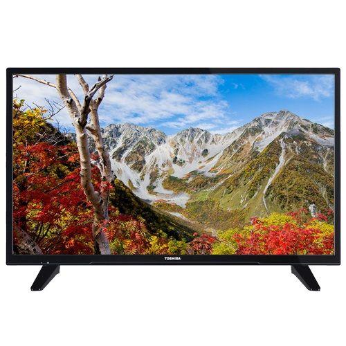 TOSHIBA 43L1665DG LED TV 43'' FULL HD, DVB-T2, BLACK, TWO POLE STAND