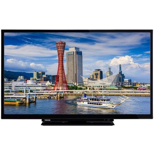 TOSHIBA 24W1753DG LED TV 24'' HD READY, DVB-T2, BLACK, ONE POLE STAND