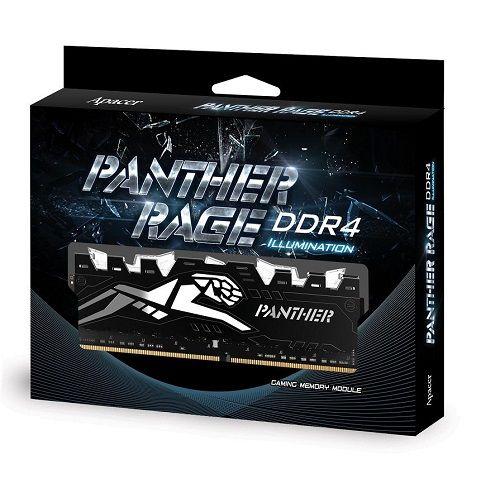 APACER DIMM DDR4 8GB 2400MHZ OC PANTHER RAGE 1.2V EK.08G2T.GEJ