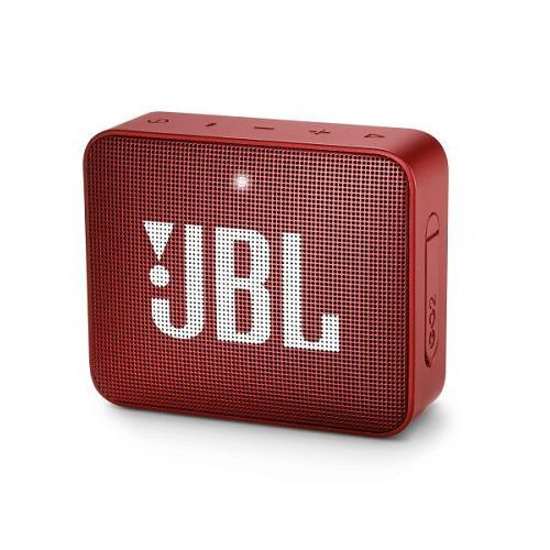 JBL GO 2 RED BLUETOOTH ZVUCNIK IPX7 VODOOTPORAN SA MIKROFONOM
