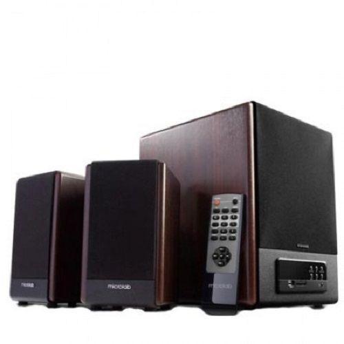 MICROLAB FC530U AKTIVNI DRVENI ZVUCNICI 2.1 64W RMS (28W,2X18W) SD, USB, FM RADIO, DALJINSKI, 3.5MM (GMB)