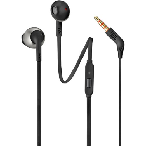 JBL T205 BT BLACK BLUETOOTH EARBUD SLUSALICE