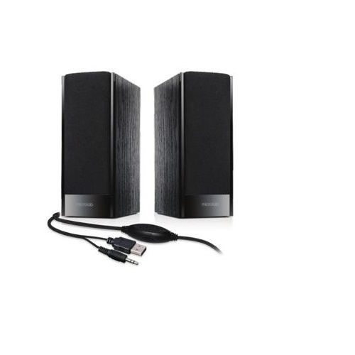 MICROLAB B-56 STEREO ZVUCNICI BLACK 3W RMS (2X1.5W) USB POWER 3.5MM