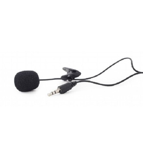 GEMBIRD MIC-C-01 CLIP-ON MIKROFON 3.5MM BLACK