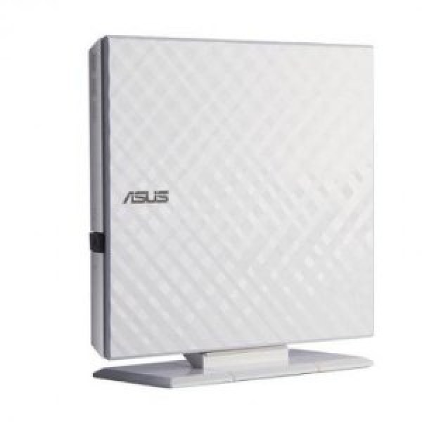 Asus DVD RW eksterni SDRW-08D2S-U LITE, beli, USB 2.0' ( '90-DQ0436-UA221KZ' )