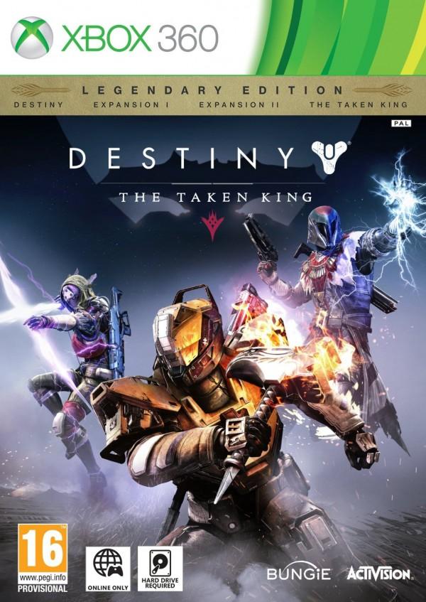 XBOX360 Destiny The Taken King Legendary Edition ( 87446EM )