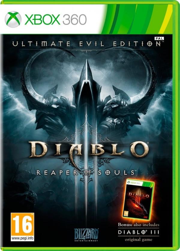 XBOX360 Diablo 3 Ultimate Evil Edition (D3 + Reaper of Souls) ( 87181EM )