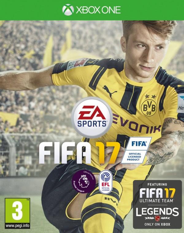 XBOXONE FIFA 17 ( E01777 )