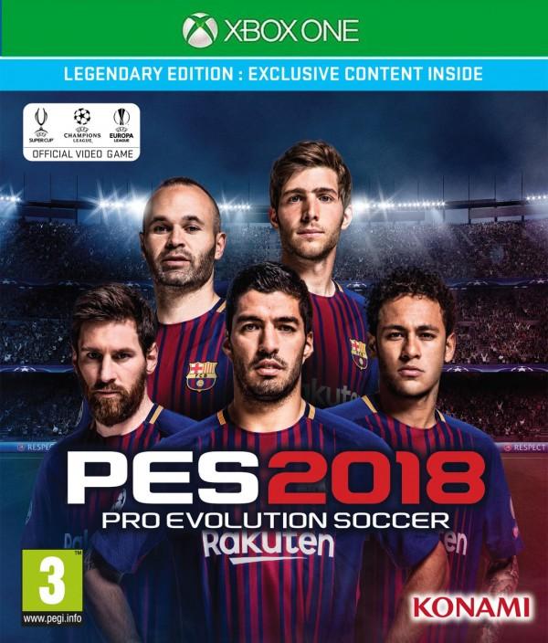 XBOXONE Pro Evolution Soccer 2018 Legendary Edition (  )