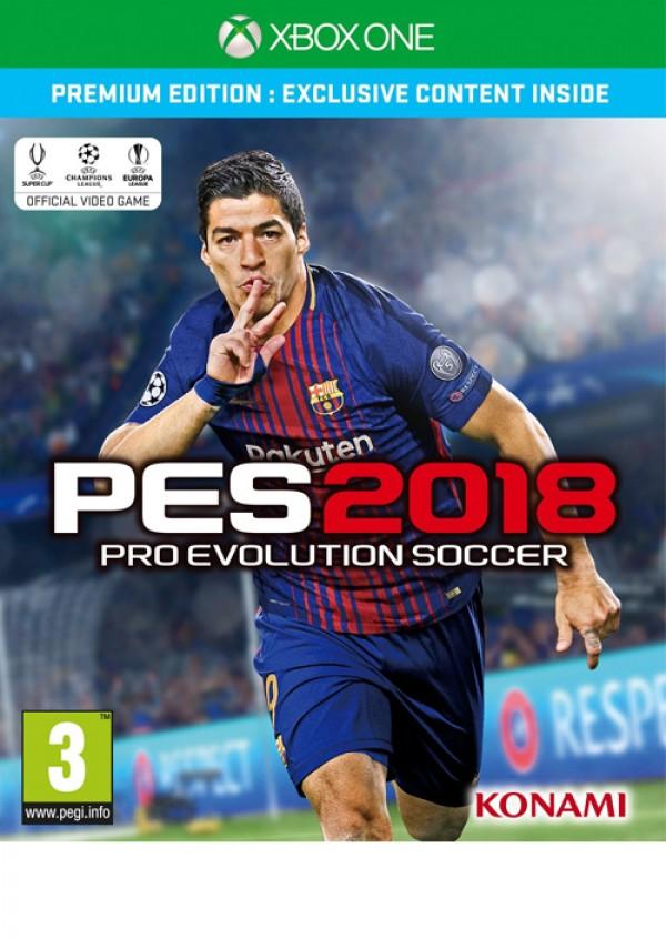 XBOXONE Pro Evolution Soccer 2018 Premium Edition (  )