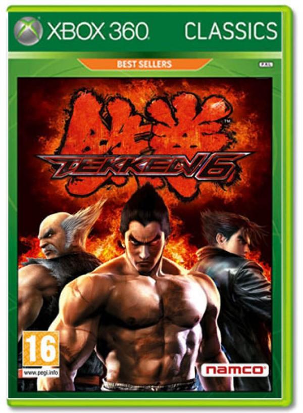 XBOX360 Tekken 6 Classics Hits Tier 3 ( 1056802 )