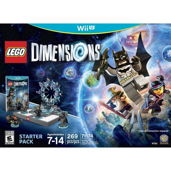 WiiU LEGO Dimensions Starter Pack ( 6174586/WIIU0185 )