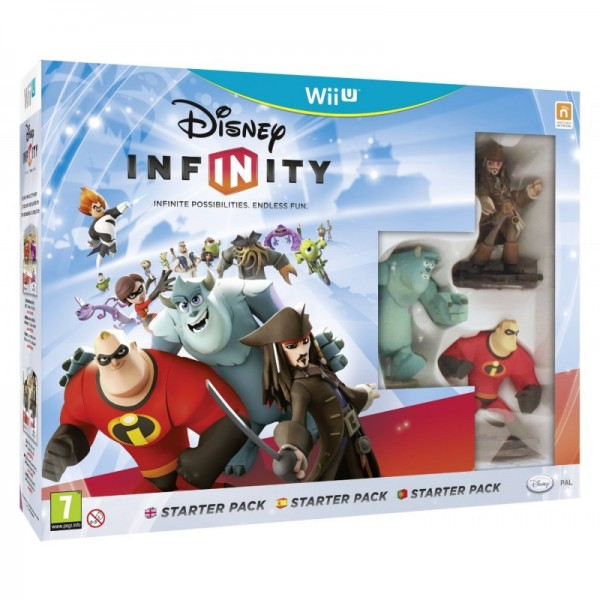 WiiU Infinity Starter Pack + 2 Power Discs (  )