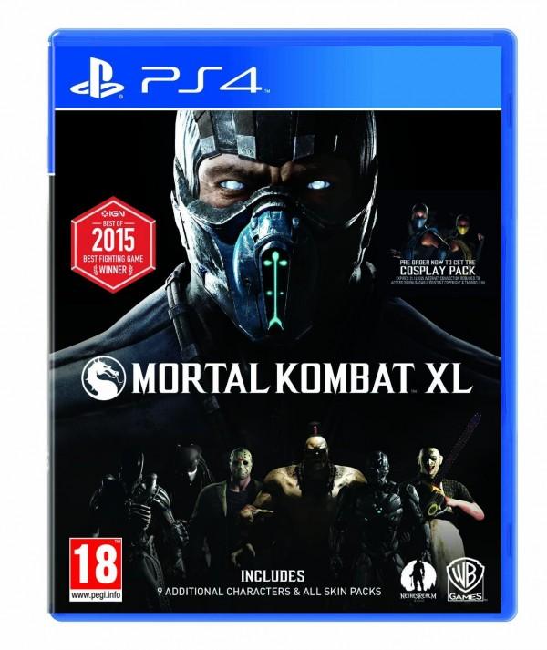 PS4 Mortal Kombat XL (  )