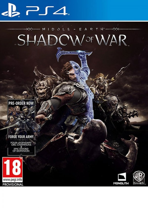 PS4 Middle Earth: Shadow of War (  )