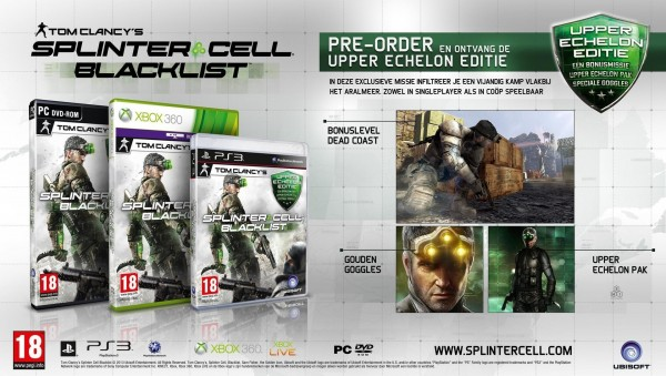 PS3 Splinter Cell: Blacklist Upper Echelon Edition (  )